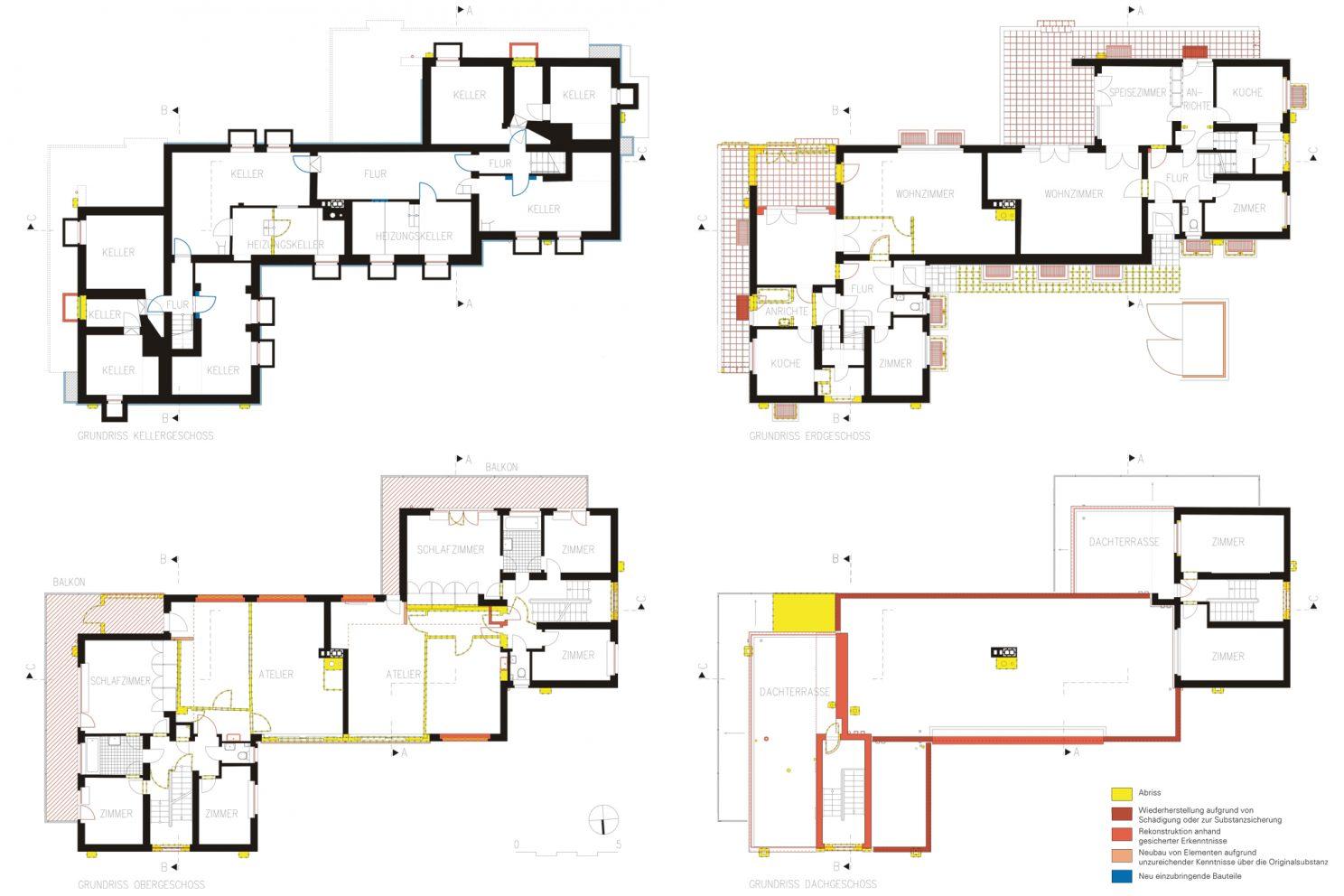 meisterhaus muche schlemmer brenne architekten. Black Bedroom Furniture Sets. Home Design Ideas